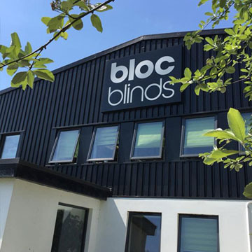 Bloc Blinds Production Headquarters Magherafelt Front Image