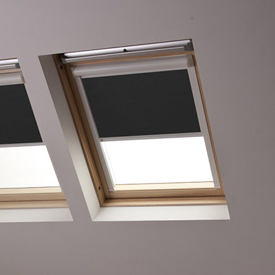 Bloc Blinds Product List Solar Skylight Grey Blind Image