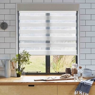 Bloc Blinds Product List Zebra roller Blind Image