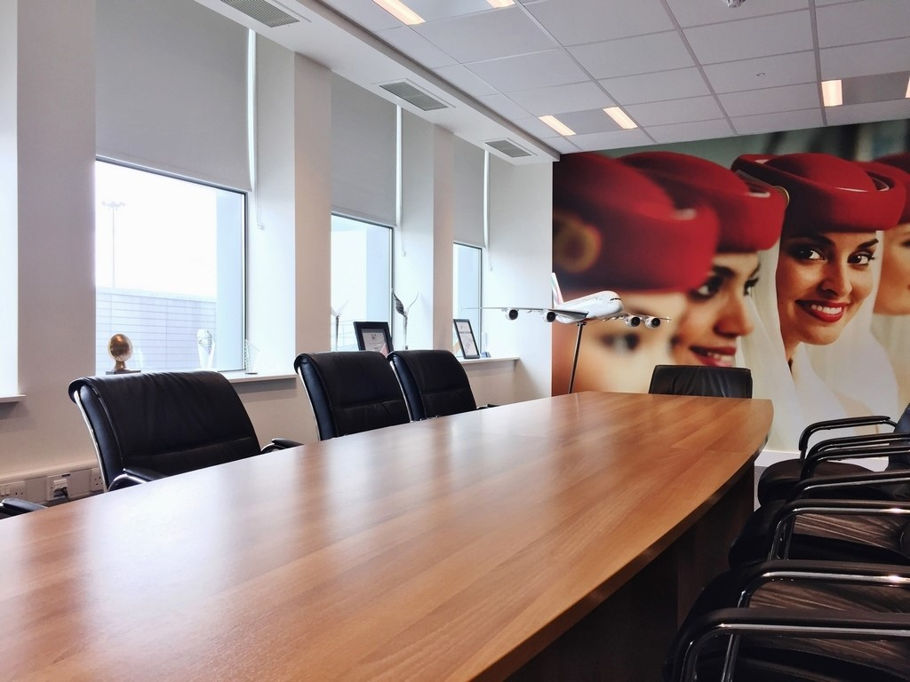 Bloc Blinds Projects Image Emirates Dublin Airport